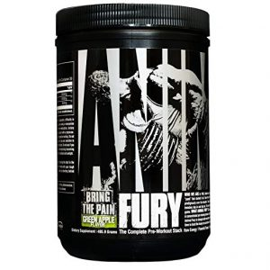 Animal Fury pre-workout review