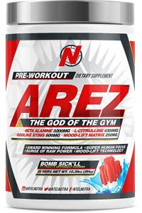 Arez God of the Gym Pre-workout Review